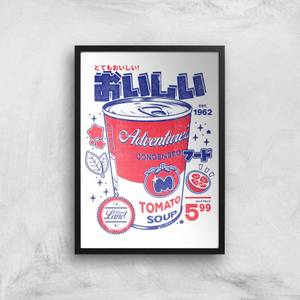 Ilustrata Smashed Tomato Soup Giclee Art Print