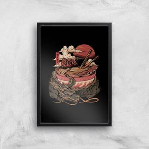Ilustrata Dragon's Ramen Giclee Art Print