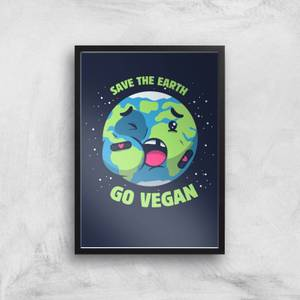 Ilustrata Save The Earth Giclee Art Print