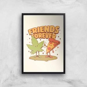 Ilustrata Friends Forever Giclee Art Print