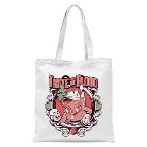 Ilustrata Bloody Mary Tote Bag - White