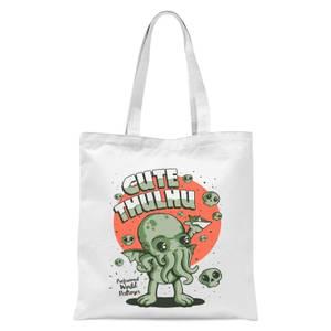 Ilustrata Cutethulhu Tote Bag - White