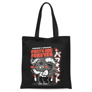 Ilustrata Pacts Are Forever Tote Bag - Black