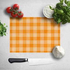 Baking Blanket Orange Chopping Board