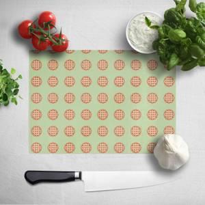 Pie Pattern Chopping Board