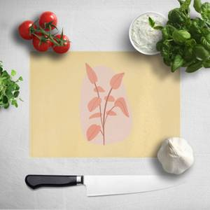 Stalk And Leaves Chopping Board