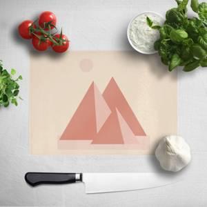 Pyramids Chopping Board