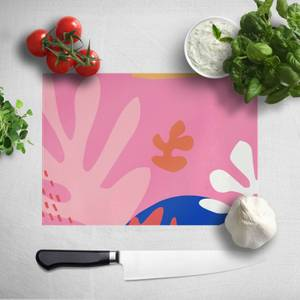 Colourful Abstract Chopping Board