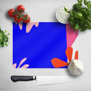 Bright Coloured Leaves Chopping Board