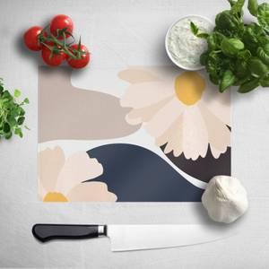 Abstract Daisies Chopping Board