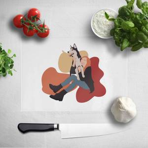 Doggy Play Time Chopping Board