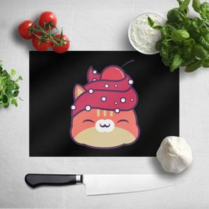 Cupcake Cat Chopping Board