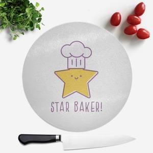 Star Baker Round Chopping Board