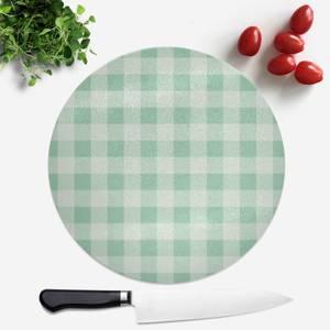 Baking Blanket Green Round Chopping Board