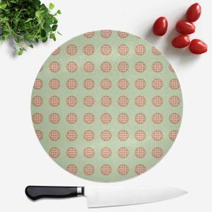 Pie Pattern Round Chopping Board