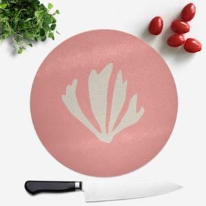 Leaf Round Chopping Board