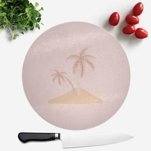 Dessert Island Round Chopping Board