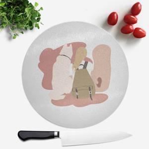 Travel Buddy Round Chopping Board