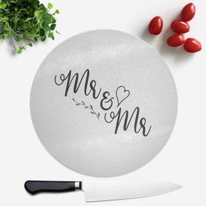 Mr&Mr Round Chopping Board