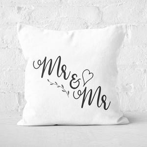 Mr&Mr Square Cushion