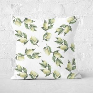Printed Flowers Square Cushion