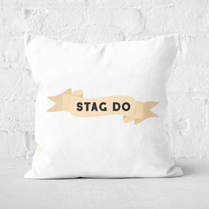 Stag Do Square Cushion