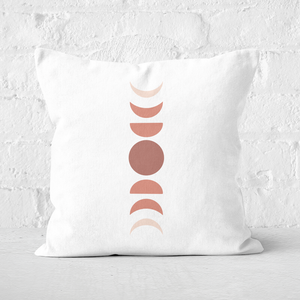 Moon Cycle Square Cushion