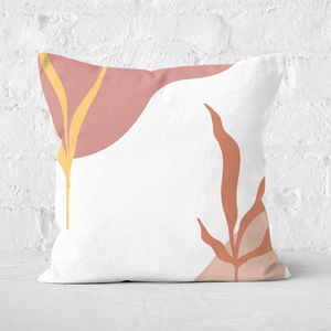 Abstract Garden Square Cushion