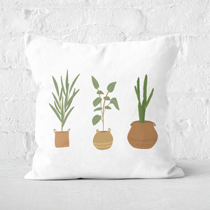 Plants Square Cushion