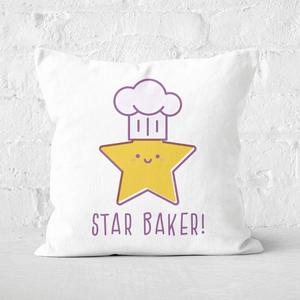 Star Baker Square Cushion