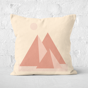 Pyramids Square Cushion