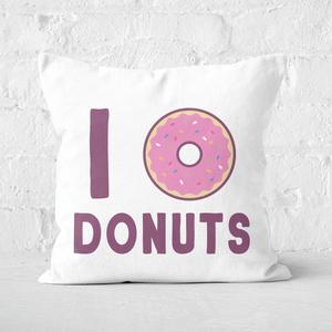 I Heart Donuts Square Cushion