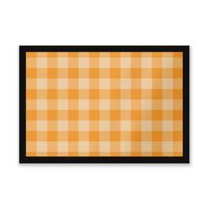 Baking Blanket Orange Entrance Mat
