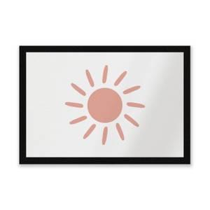 Sun Entrance Mat