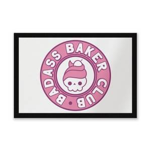 Badass Baker Club Entrance Mat