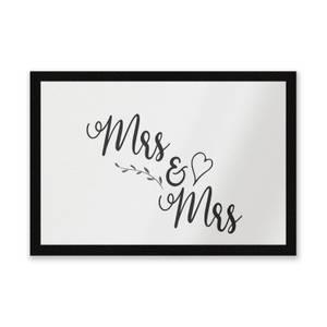 Mrs & Mrs Entrance Mat