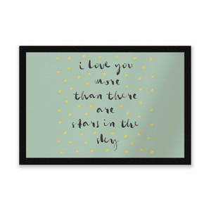 I Love You More Than There Are Stars In The Sky Entrance Mat