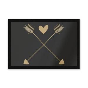 Hearts And Arrows Entrance Mat