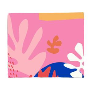 Colourful Abstract Fleece Blanket