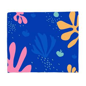 Under The Sea Print Fleece Blanket