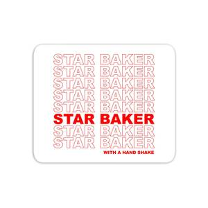 Star Baker With A Hand Shake Mouse Mat