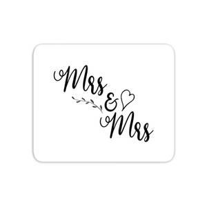Mrs & Mrs Mouse Mat