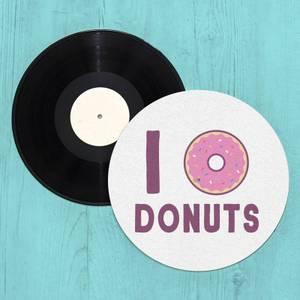 I Heart Donuts Slip Mat