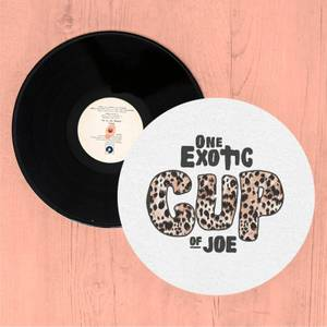 One Exotic Cup Of Joe Slip Mat