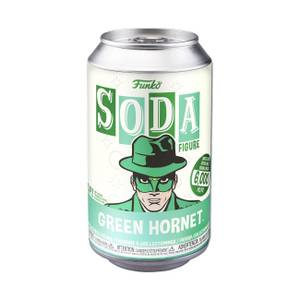 Green Hornet Vinyl Soda Figure in Collector Can