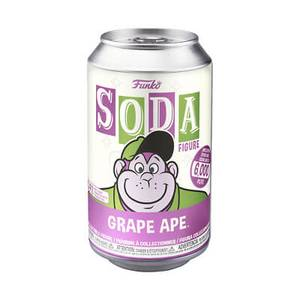 Hanna Barbara Grape Ape Vinyl Soda Figure in Collector Can
