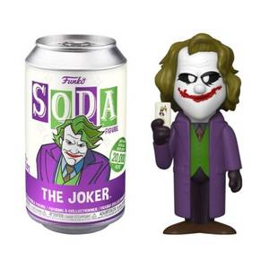 DC Comics Joker Vinyl Soda Figure in Collector Can