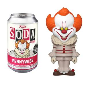 IT Pennywise Vinyl Soda Figure in Collector Can