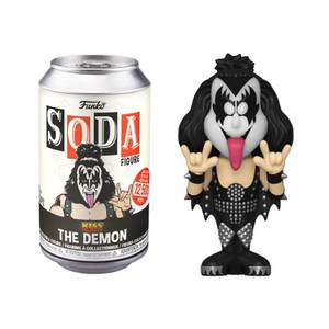 KISS The Demon Vinyl Soda Figure in Collector Can