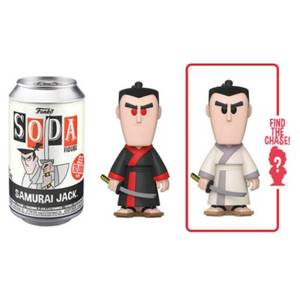 Samurai Jack Vinyl Soda Figure in Collector Can